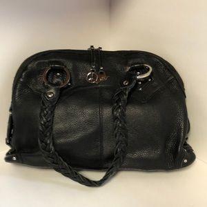 The Sak Black Leather Limited Edition Satchel